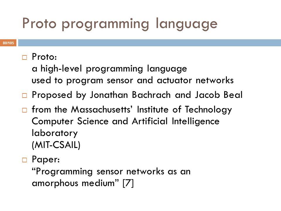 Proto programming language