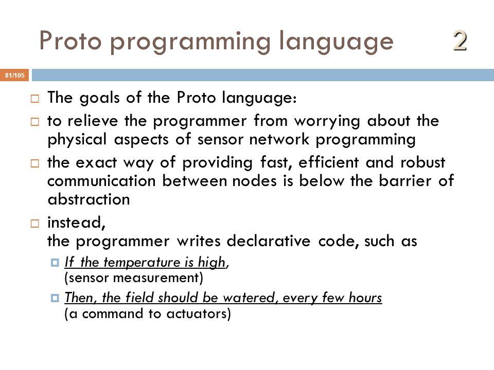 Proto programming language 2