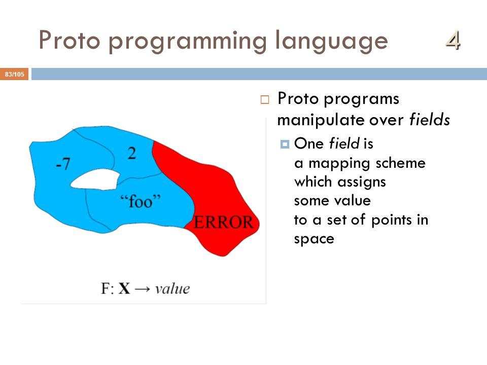 Proto programming language 4
