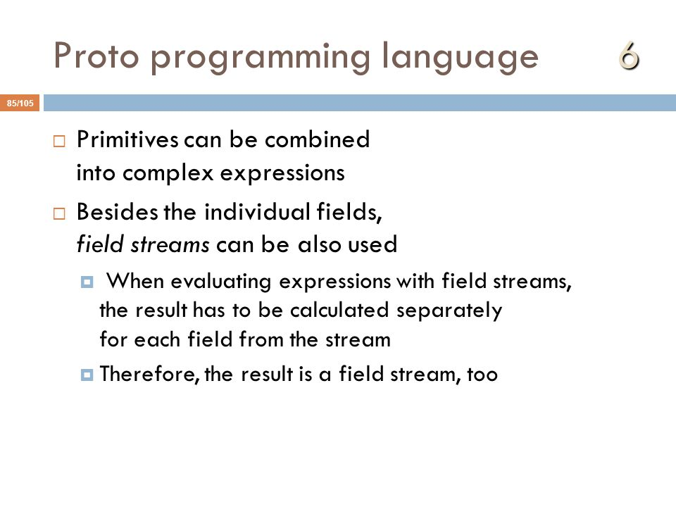 Proto programming language 6