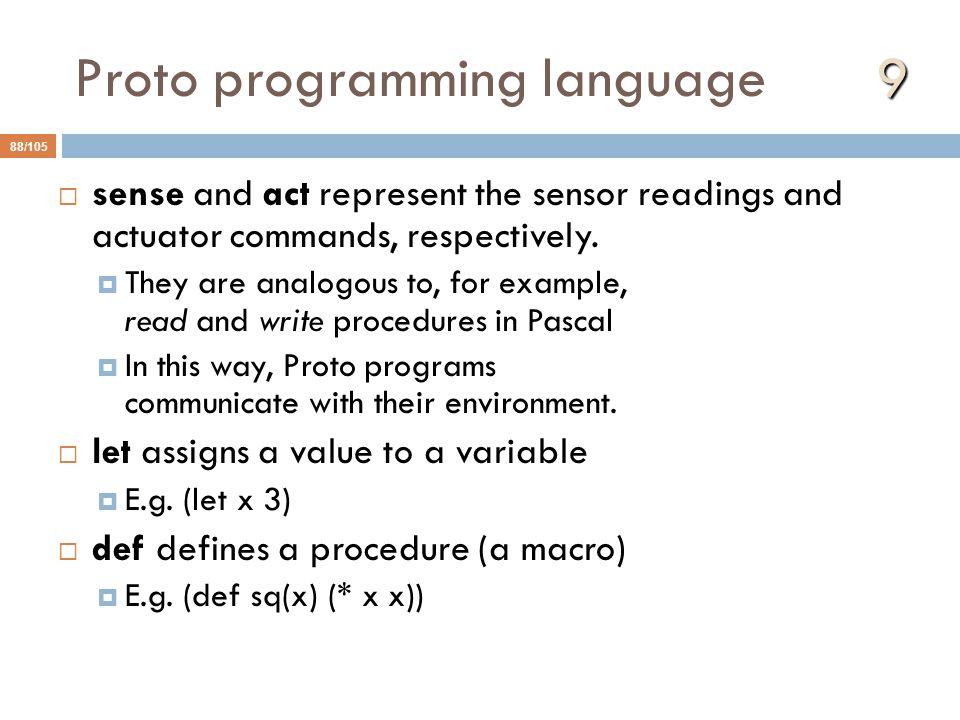 Proto programming language 9