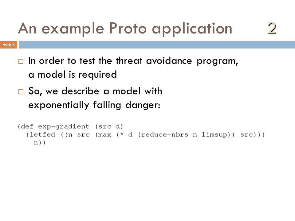 An example Proto application 2