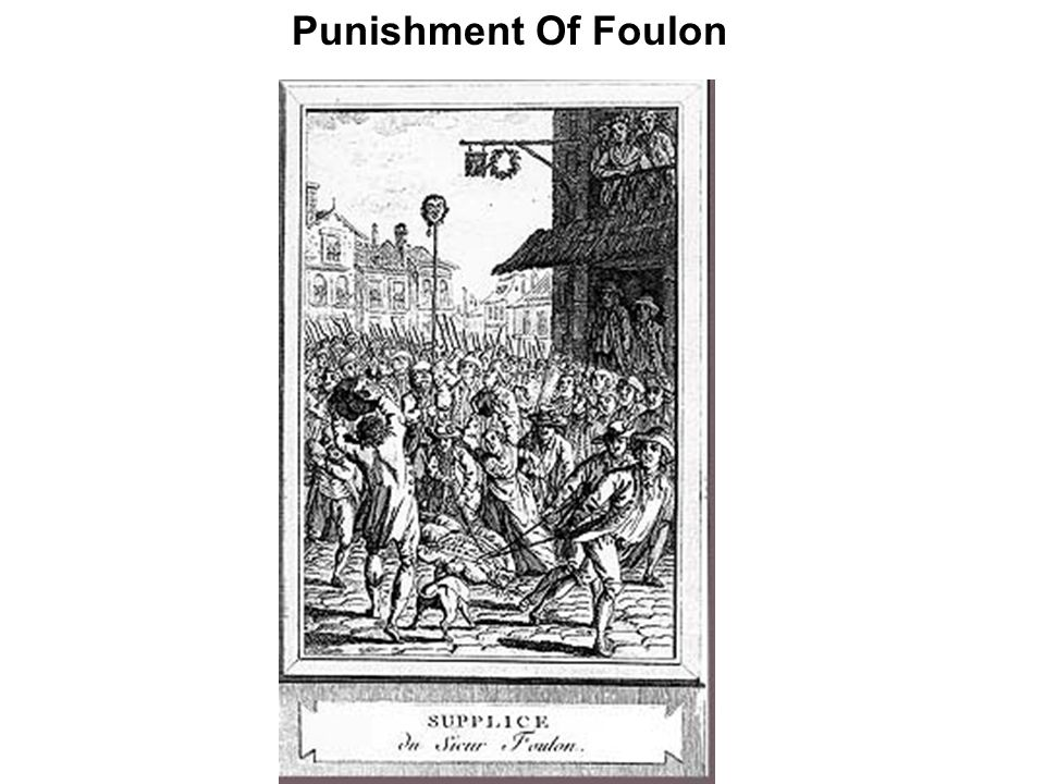 Punishment Of Foulon