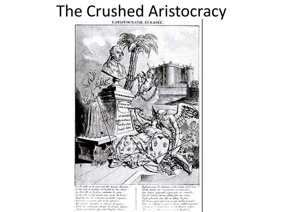 The Crushed Aristocracy