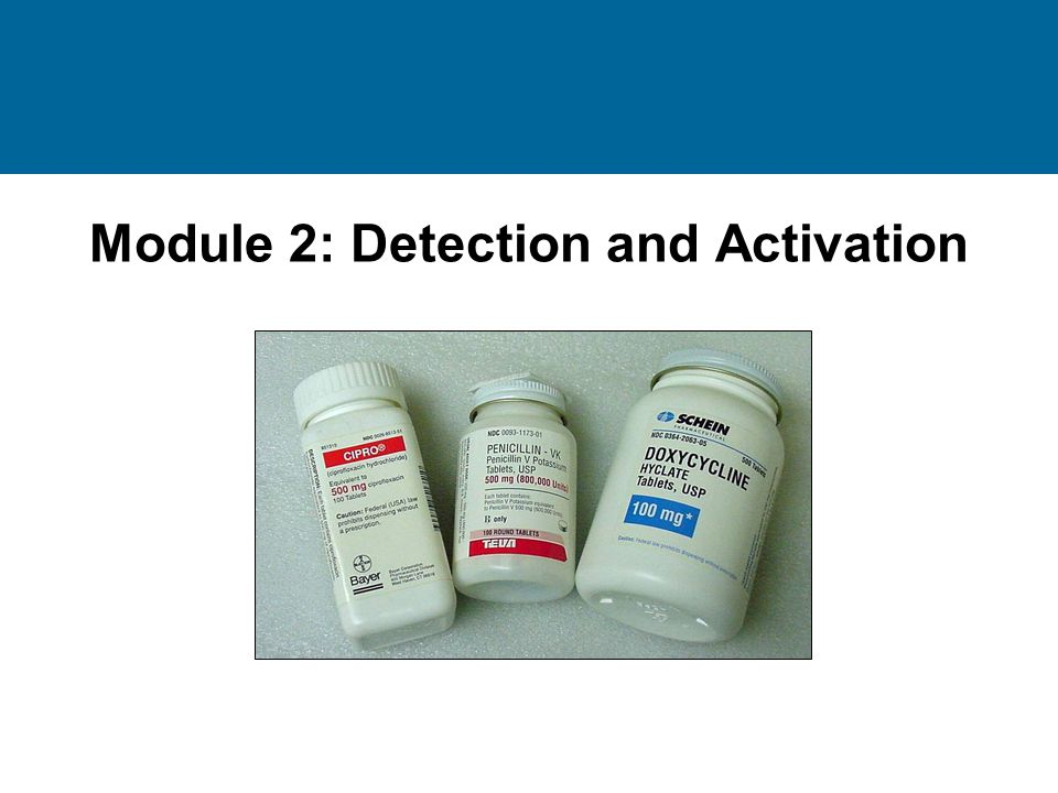Module 2: Detection and Activation