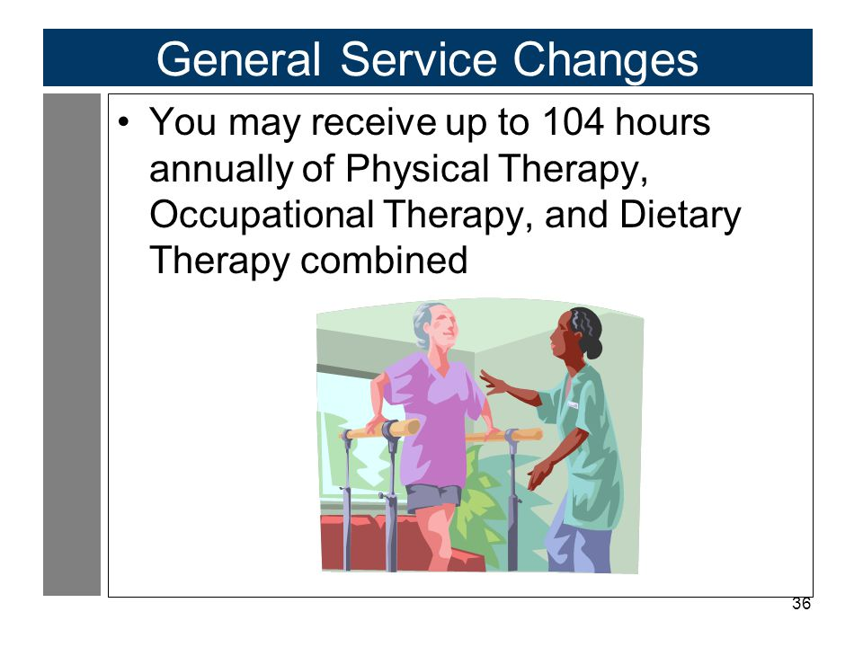 General Service Changes