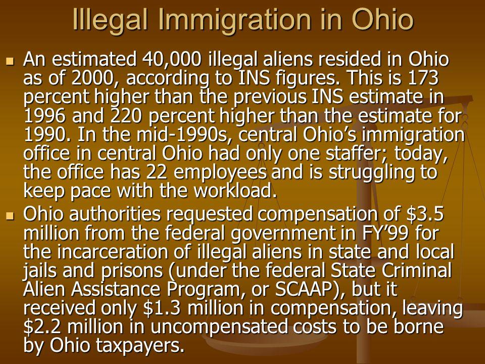 Illegal Immigration in Ohio