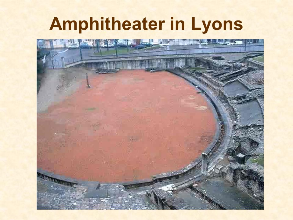 Amphitheater in Lyons