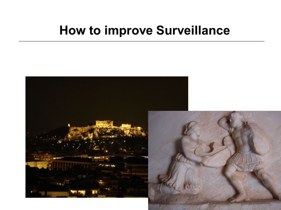 How to improve Surveillance