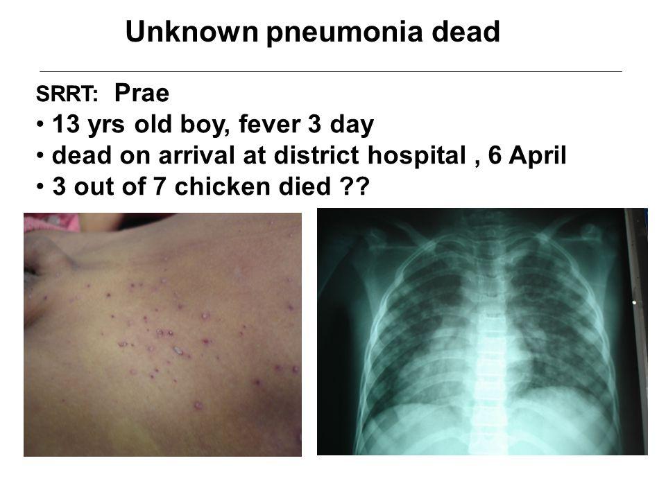 Unknown pneumonia dead