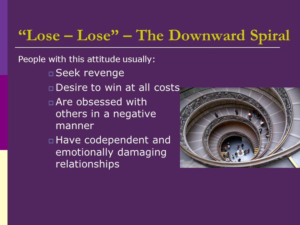 Lose – Lose – The Downward Spiral
