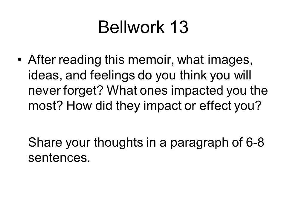 Bellwork 13