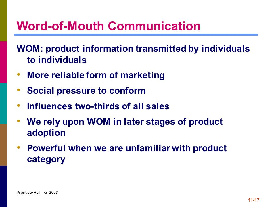 Word-of-Mouth Communication