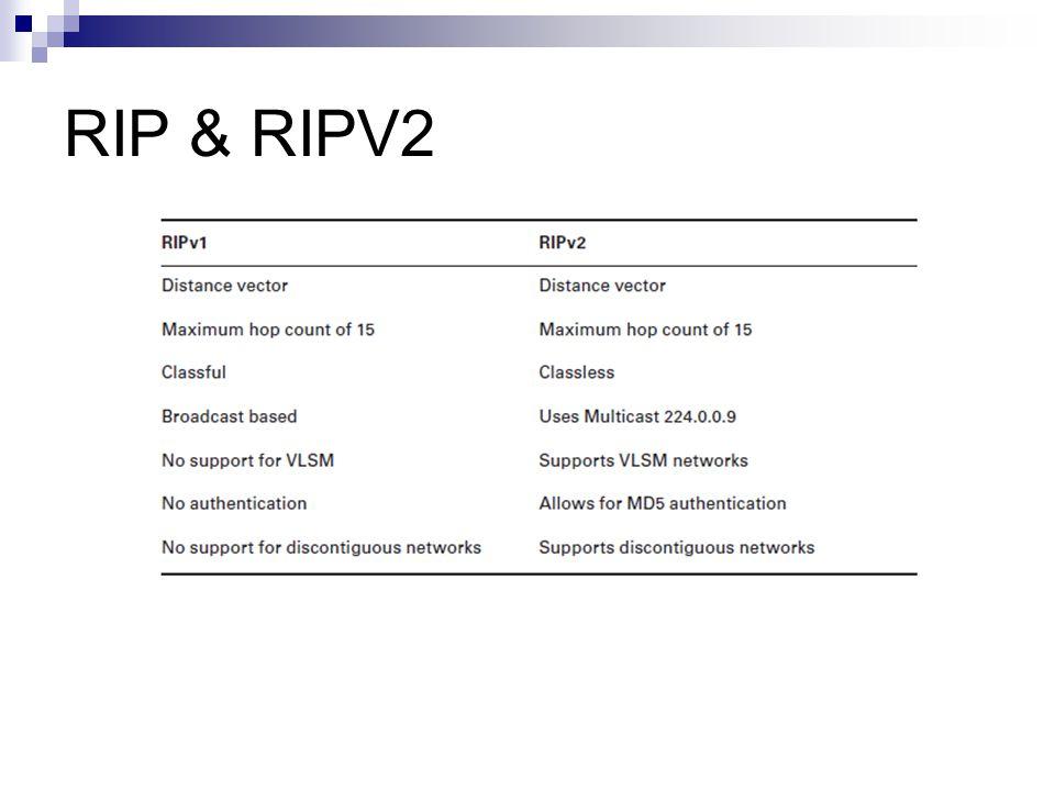 RIP & RIPV2