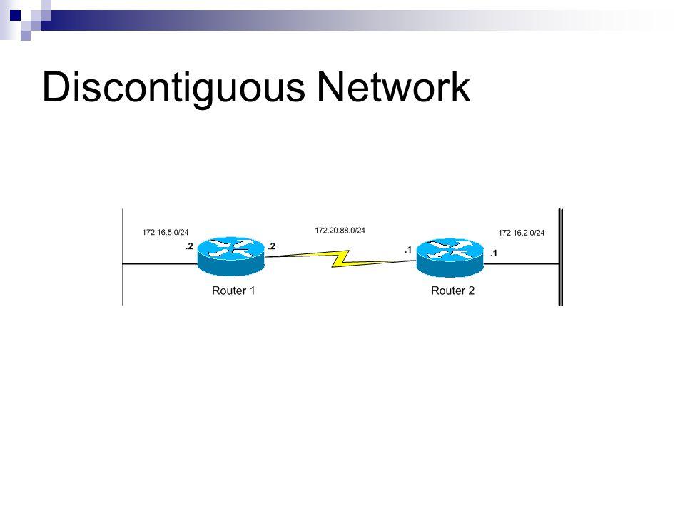 Discontiguous Network