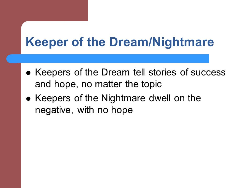 Keeper of the Dream/Nightmare
