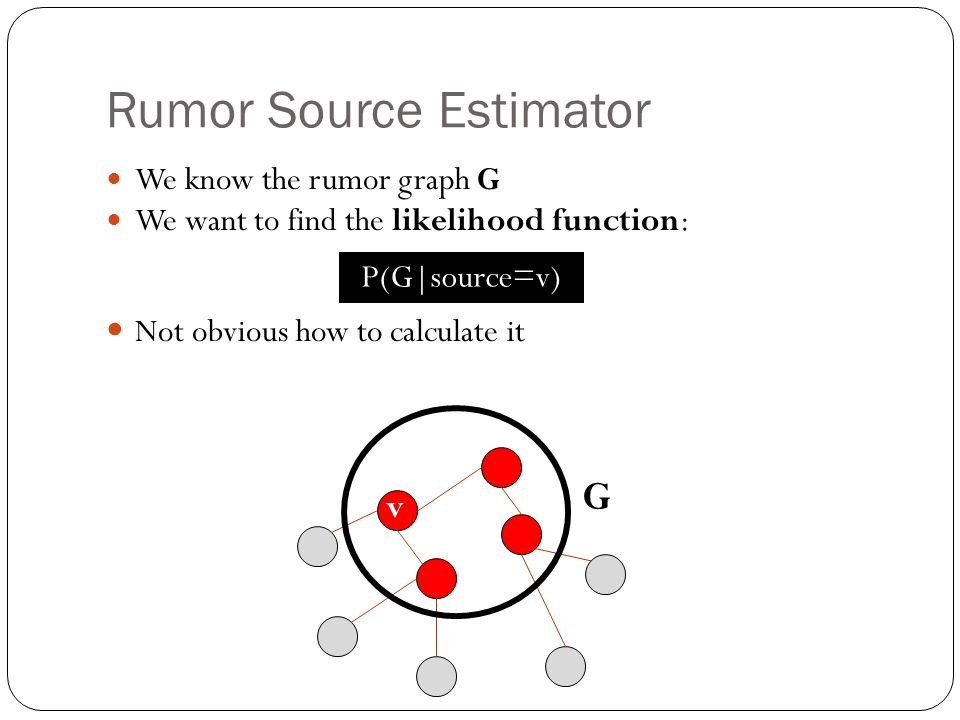 Rumor Source Estimator