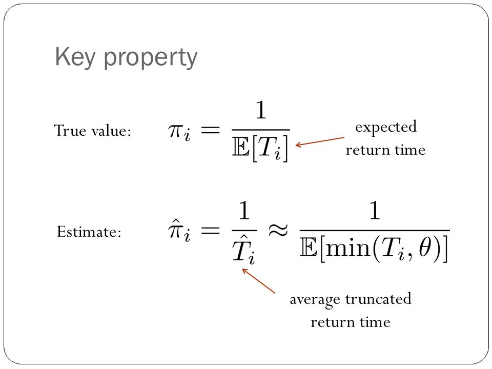 average truncated return time