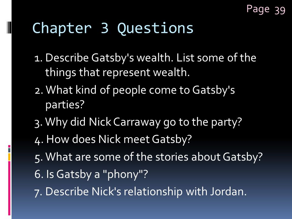 Page 39 Chapter 3 Questions.