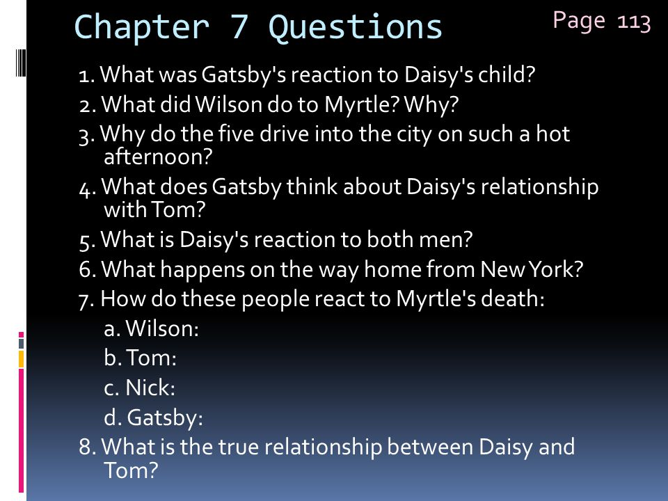 Chapter 7 Questions Page 113