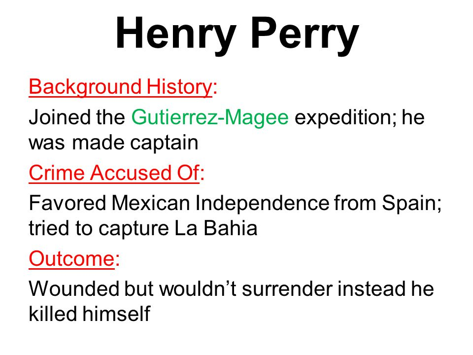 Henry Perry