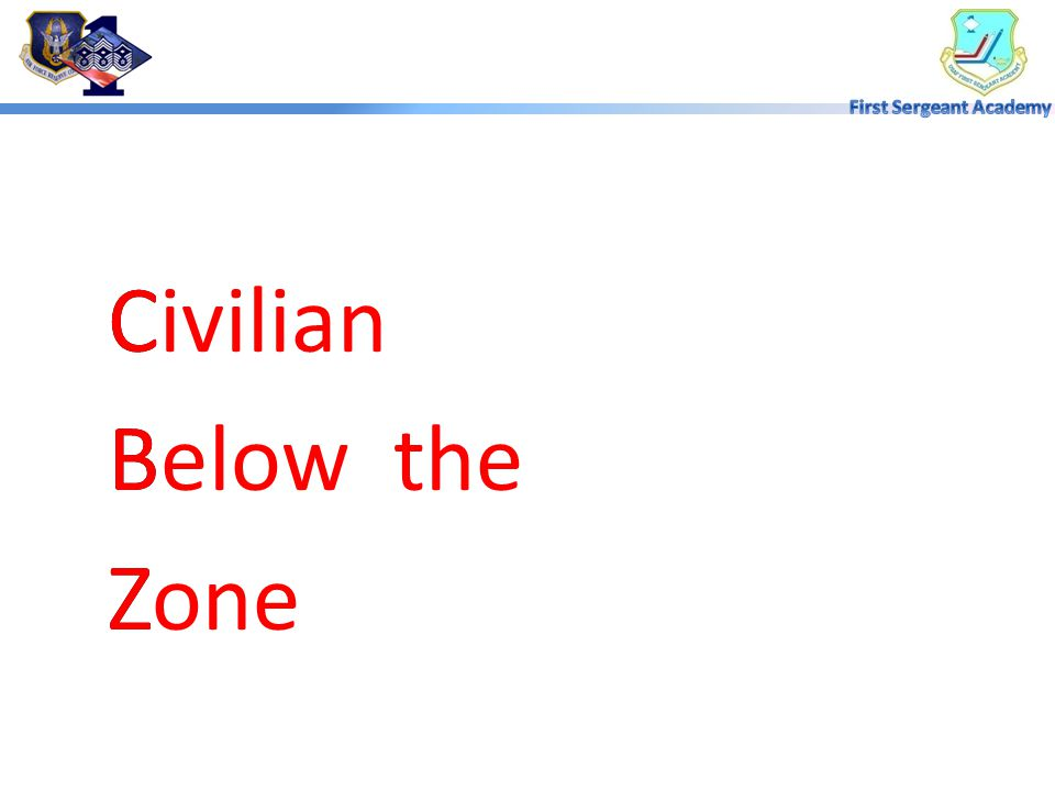 Civilian Below the Zone C B Z