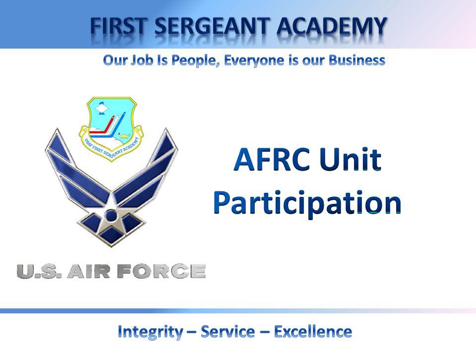AFRC Unit Participation