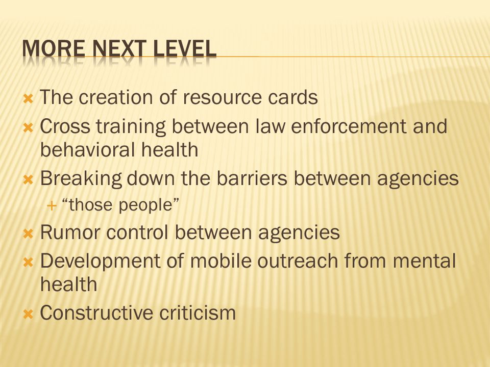 More Next Level The creation of resource cards