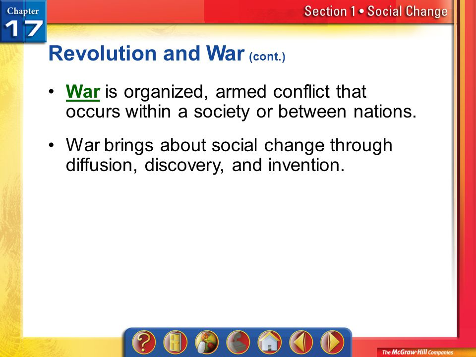 Revolution and War (cont.)