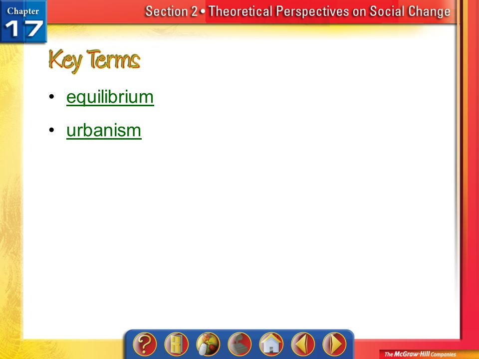 equilibrium urbanism Section 2-Key Terms