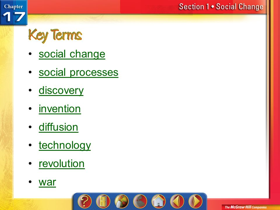 social change social processes discovery invention diffusion