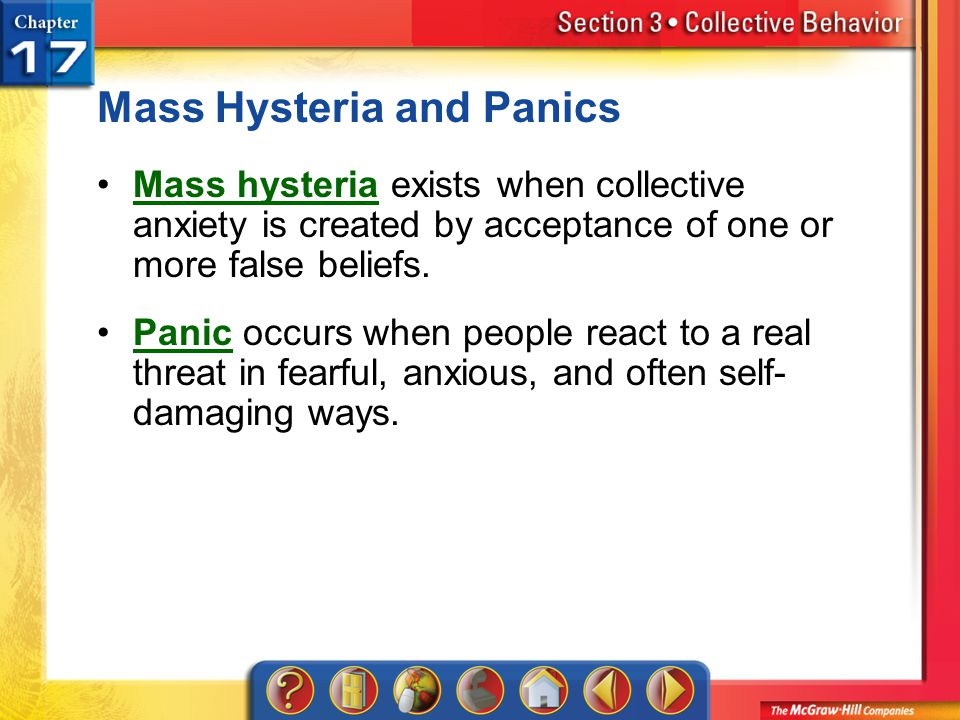 Mass Hysteria and Panics