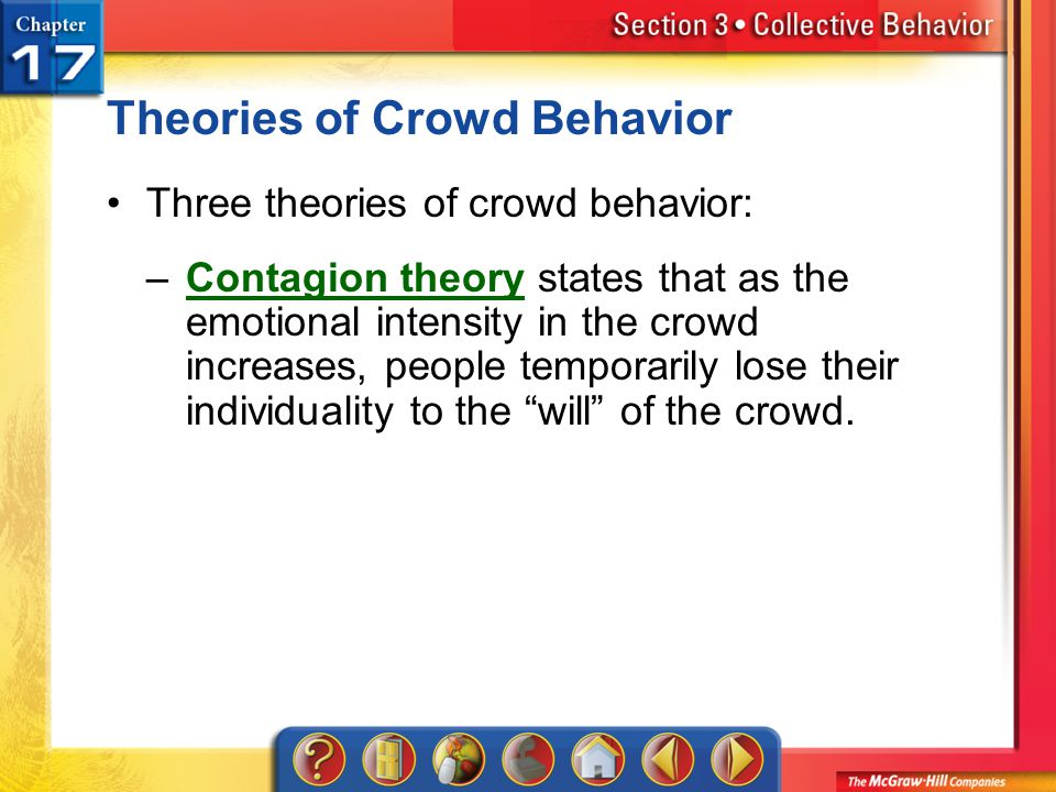 Theories of Crowd Behavior