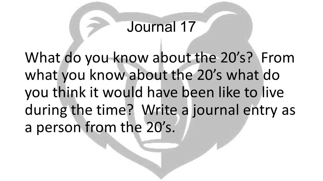 Journal 17