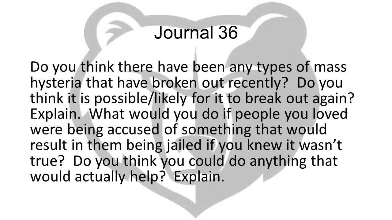 Journal 36