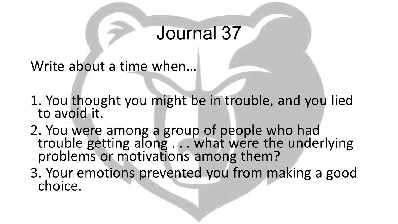 Journal 37