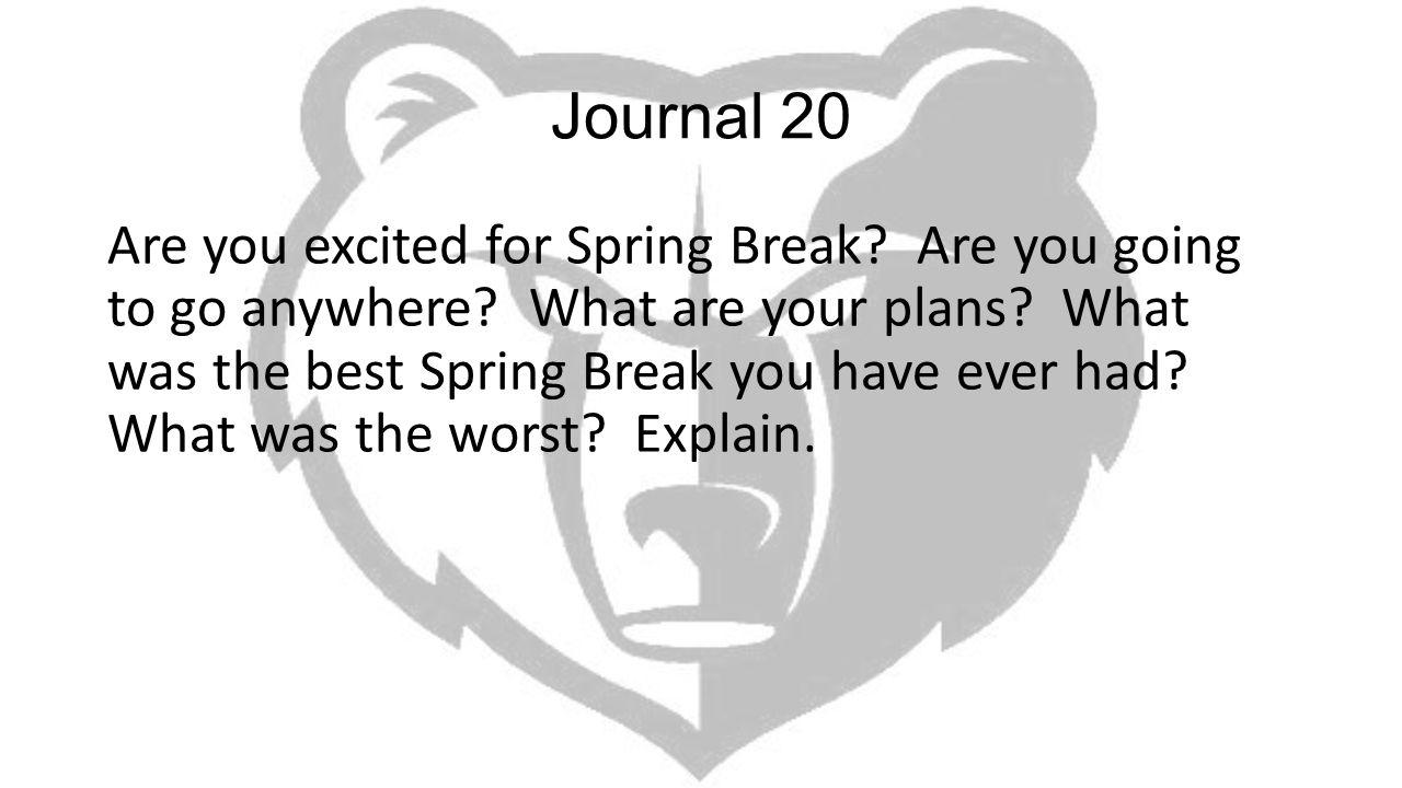 Journal 20