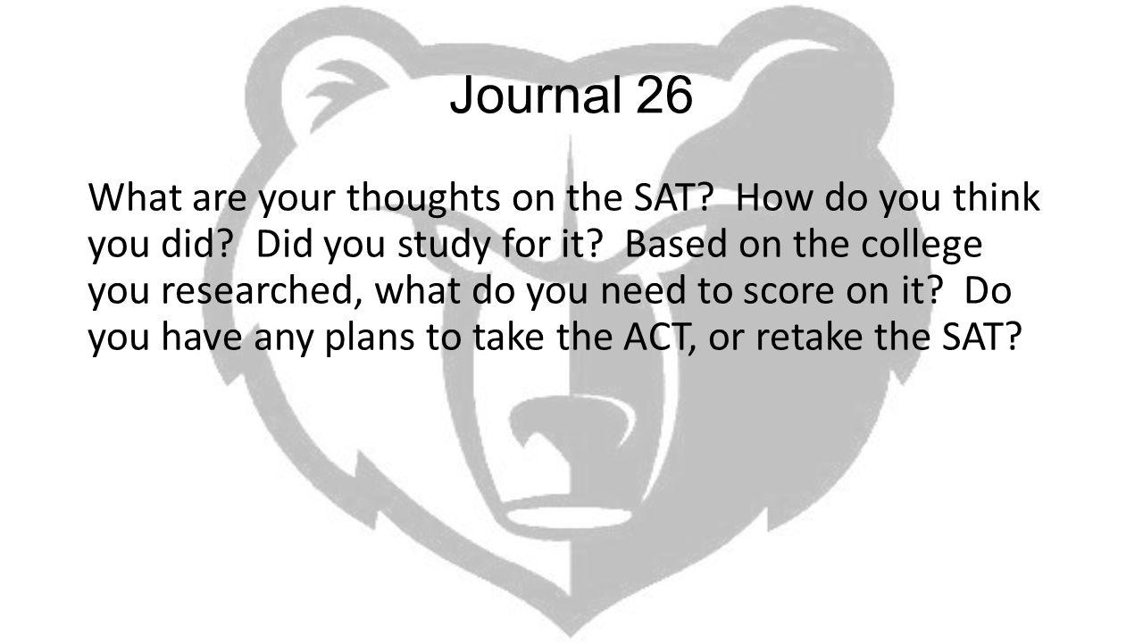 Journal 26