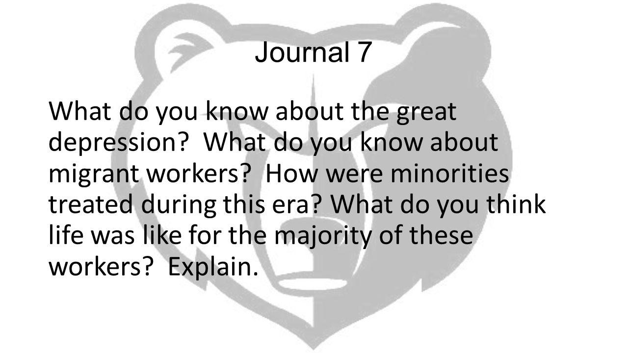 Journal 7