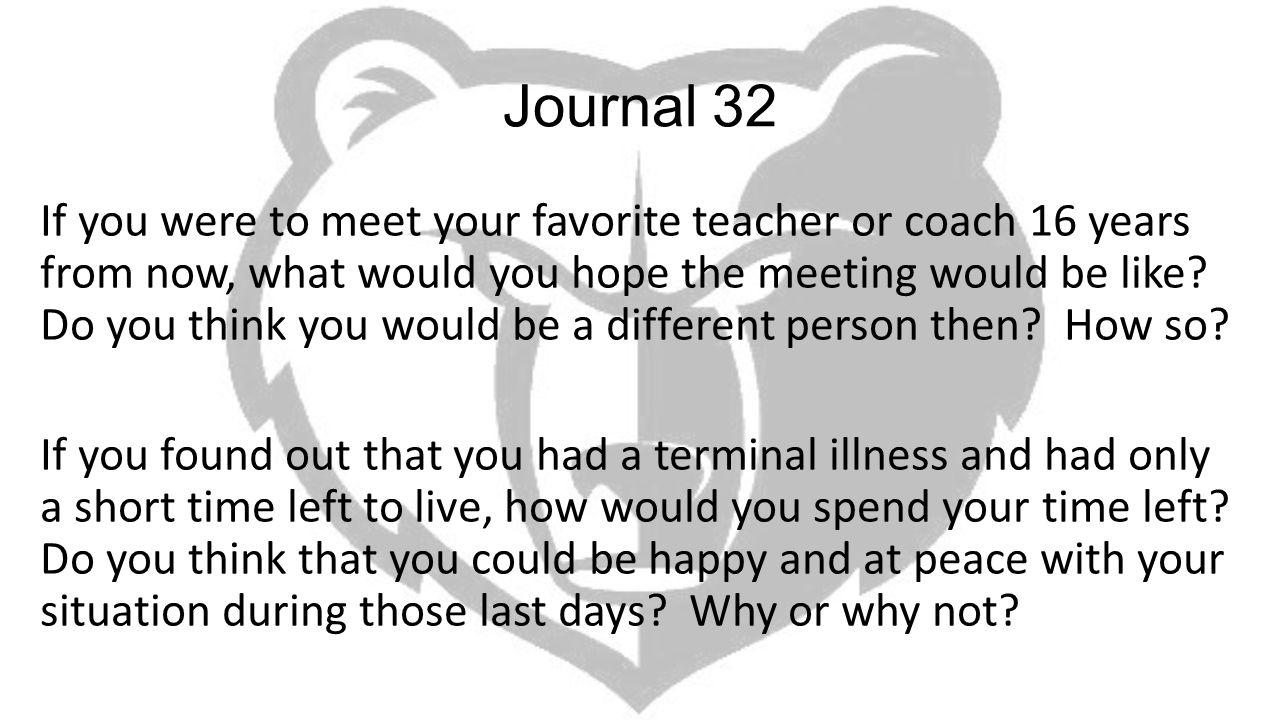 Journal 32