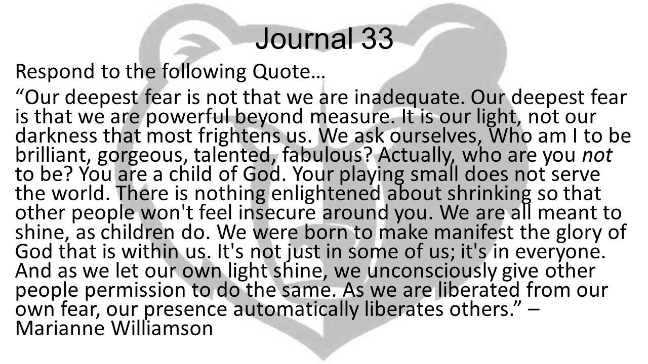 Journal 33