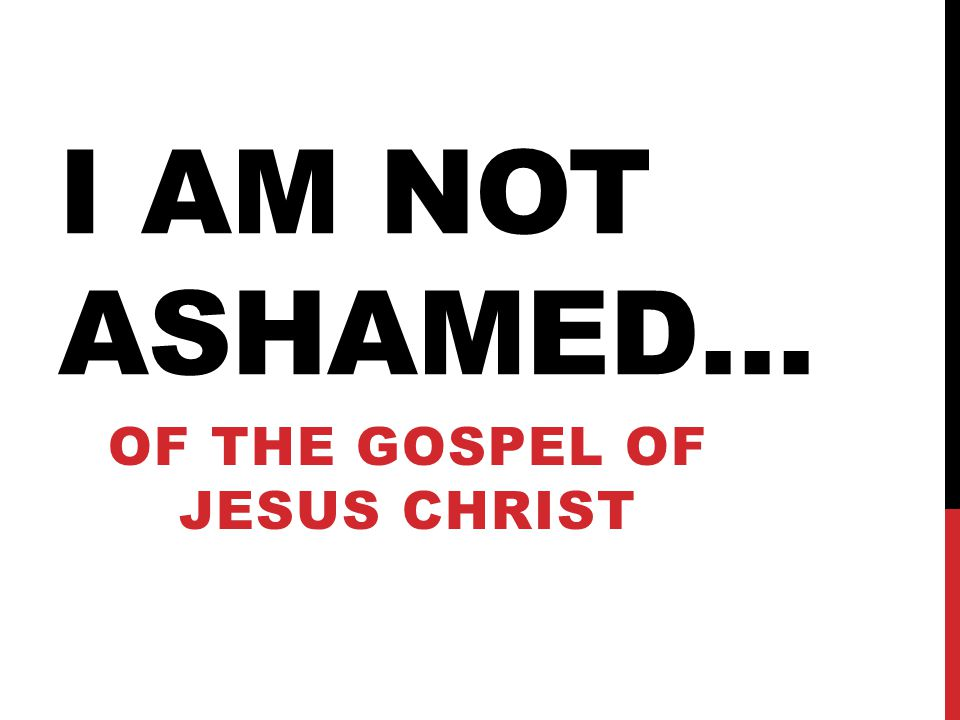Of the Gospel of Jesus Christ