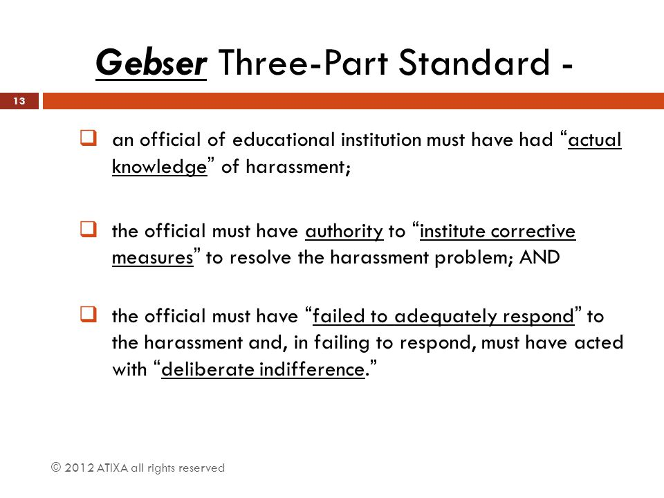 Gebser Three-Part Standard -