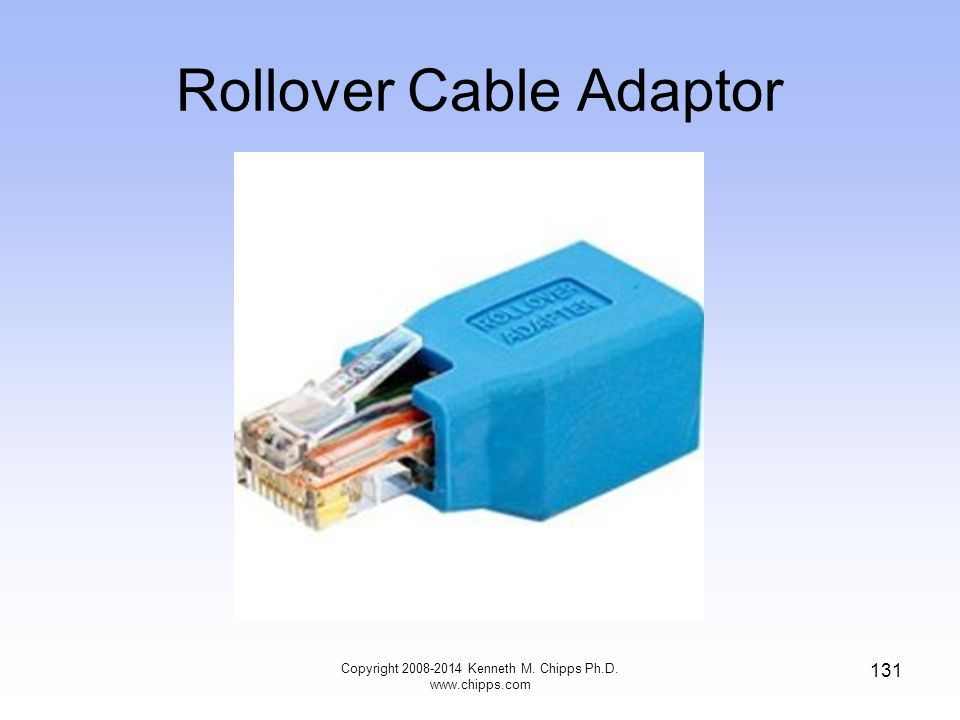Rollover Cable Adaptor