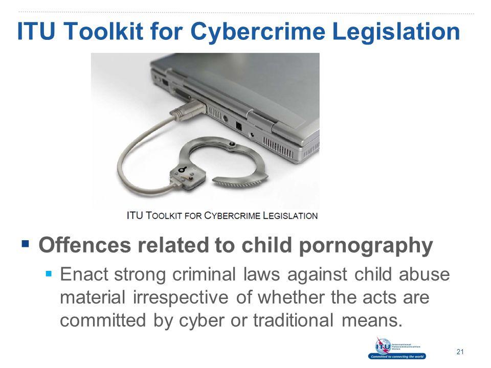 ITU Toolkit for Cybercrime Legislation
