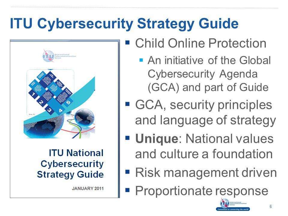ITU Cybersecurity Strategy Guide