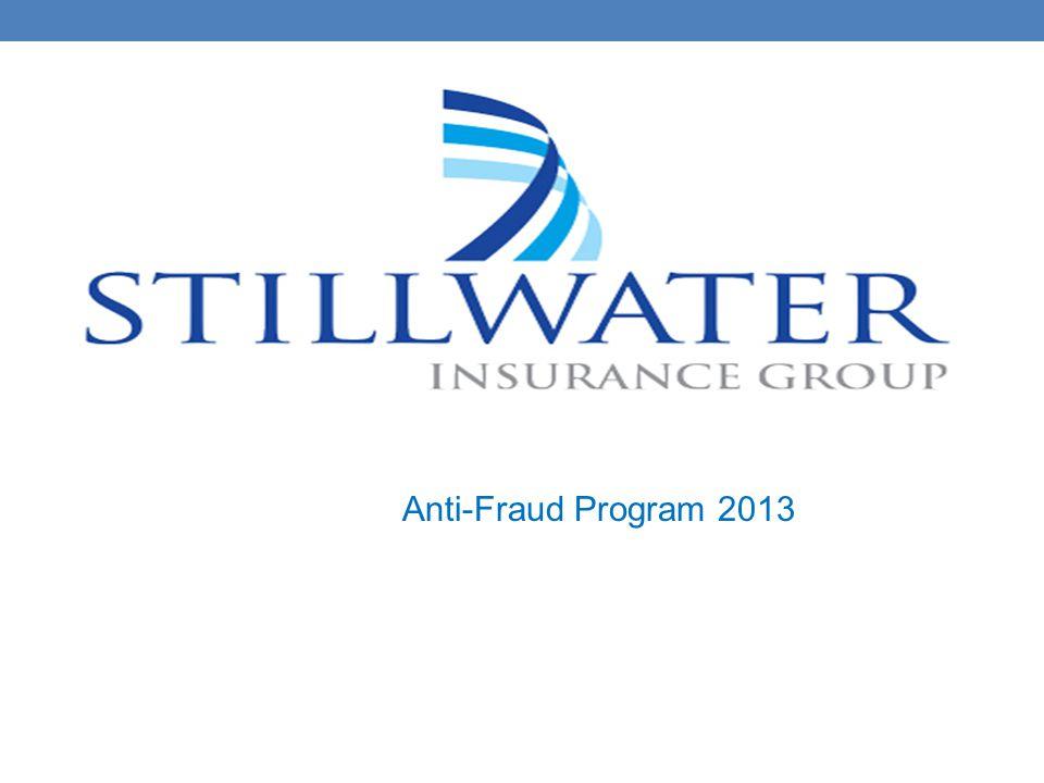 Anti-Fraud Program 2013