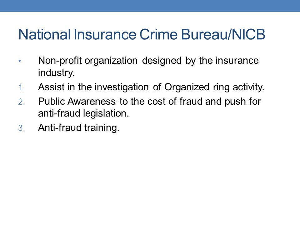 National Insurance Crime Bureau/NICB