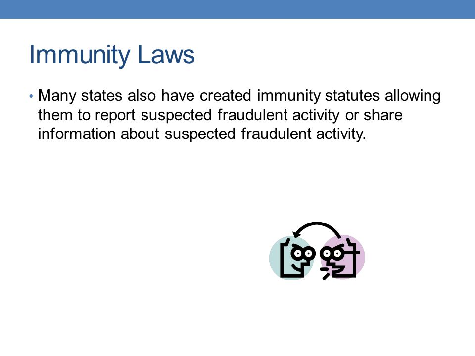 Immunity Laws