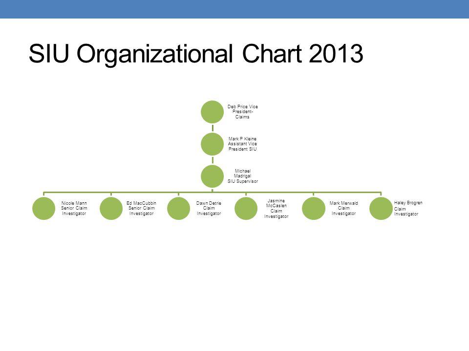 SIU Organizational Chart 2013